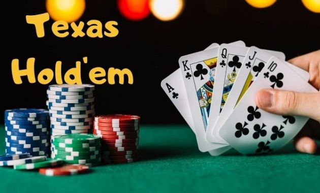 Tips Main Texas Hold'em